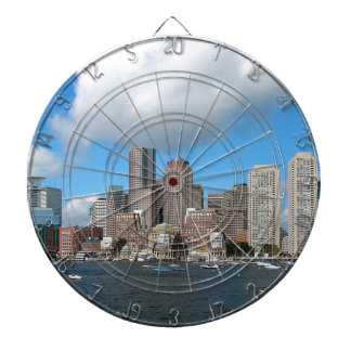 Boston Skyline Dartboard