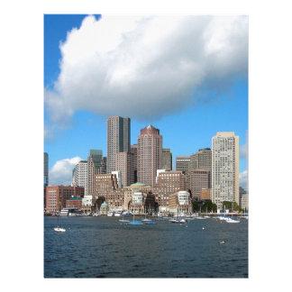 Boston Skyline Letterhead