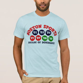 Boston Sports - Decade of Dominance T-Shirt