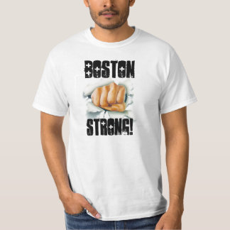 BOSTON STRONG FIST BREAKTHROUGH VICTORY TEE! T-Shirt