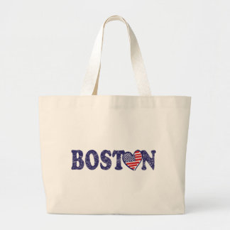 Boston Strong Large Tote Bag