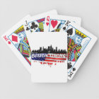 Boston Strong Run Bicycle Playing Cards
