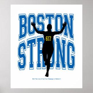 Boston Strong Runner Poster