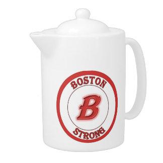 Boston Strong Tea Pot