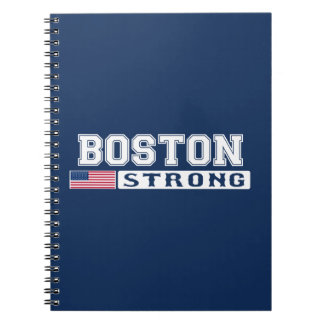 BOSTON STRONG U.S. Flag Notebooks