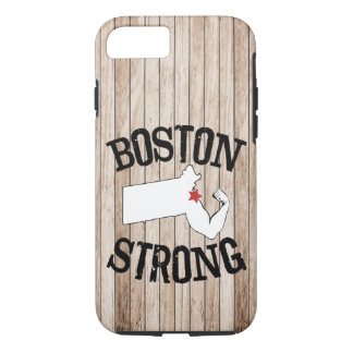 Boston Strong Wood Grain Case-Mate iPhone Case
