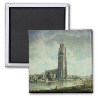 Boston Stump view from the South-west Fridge Magnets