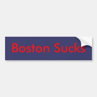 Boston Sucks Bumper Sticker
