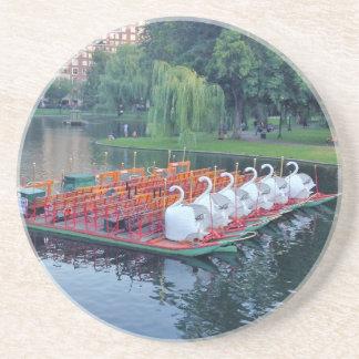 Boston Swan Boats Coaster