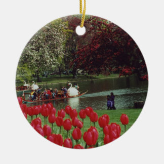 Boston Swan Boats Ornament