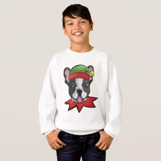 Boston Sweatshirt Funny Elf Christmas Gift Shirt