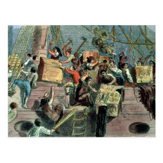 Boston Tea Party, 16th December 1773 Postcard