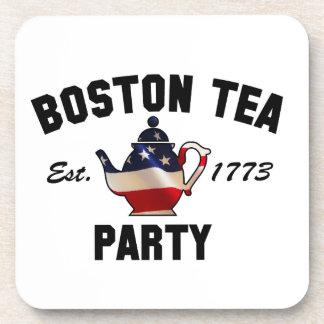 Boston Tea Party Drink Coasters