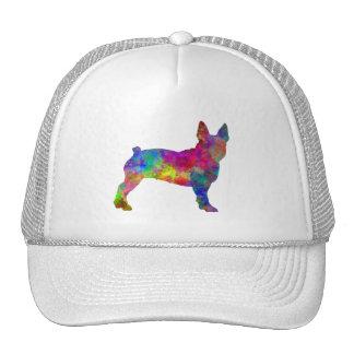 Boston Terrier 01 in watercolor Trucker Hat
