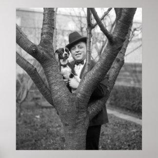 Boston Terrier, 1920s Poster