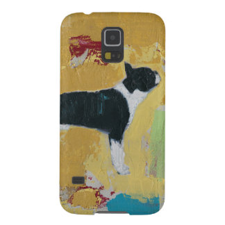 Boston Terrier Abstract Art Cases For Galaxy S5