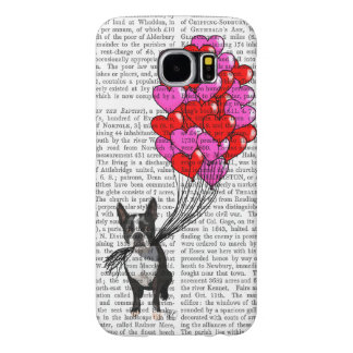 Boston Terrier And Balloons Samsung Galaxy S6 Cases