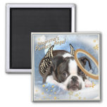 Boston Terrier Angel Apparel and Gifts Fridge Magnets