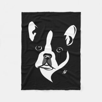 Boston Terrier Art Blankets