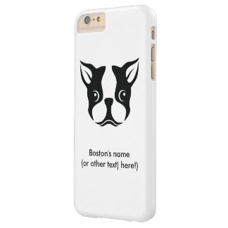 Boston Terrier Barely There iPhone 6 Plus Case