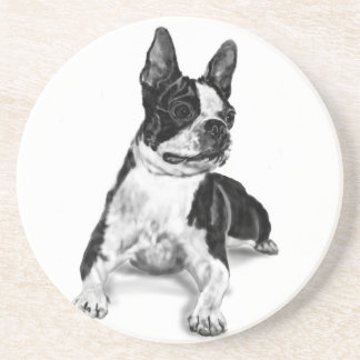 Boston Terrier Beverage Coaster