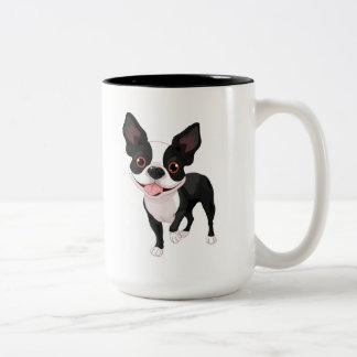 Boston Terrier Big Coffee Cup Mug