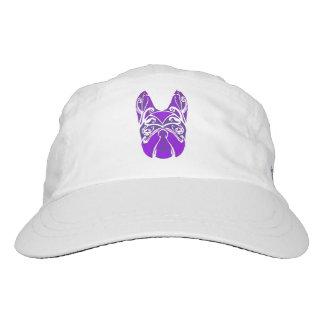Boston Terrier Block Print Headsweats Hat