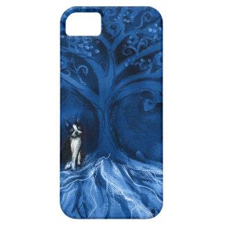 Boston terrier blue iPhone 5 case
