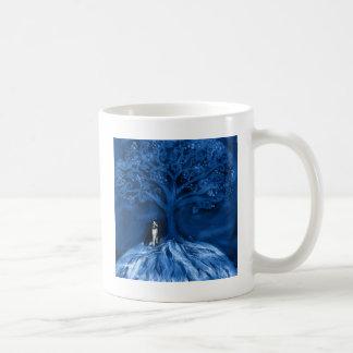 Boston terrier blue mugs