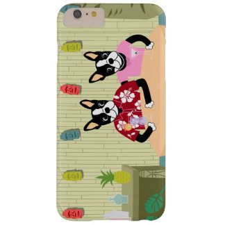 Boston Terrier Boy & Girl Barely There iPhone 6 Plus Case