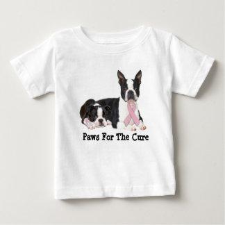 Boston Terrier Breast Cancer ToddlerUnisex T-Shirt