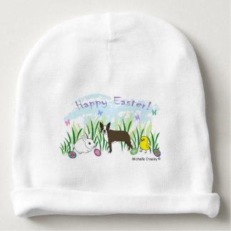 boston terrier brown baby beanie