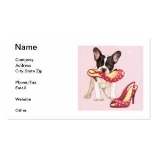Boston Terrier Business Card