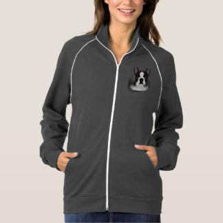 boston terrier cartoon jacket