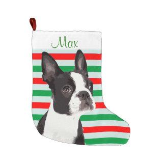 Boston Terrier Christmas Pet Stocking