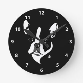 Boston Terrier Clocks