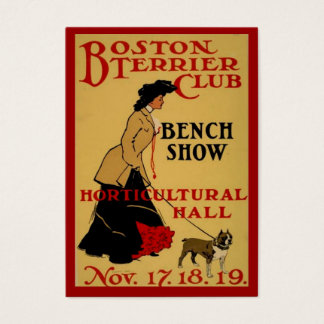 Boston Terrier Club Business Card
