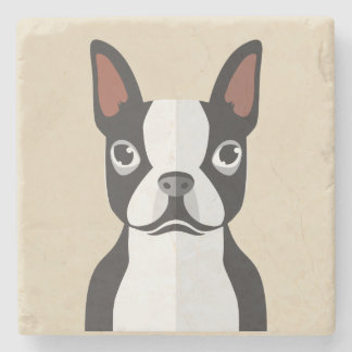 Boston Terrier Coasters Stone Coaster