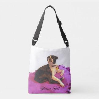 Boston Terrier cross body bag