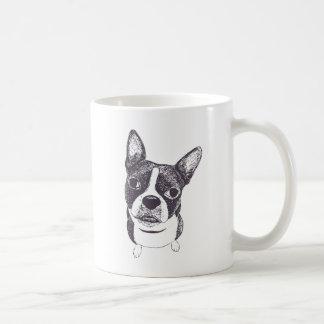 Boston Terrier Dog ARt by Carol Iyer Coffee Mug