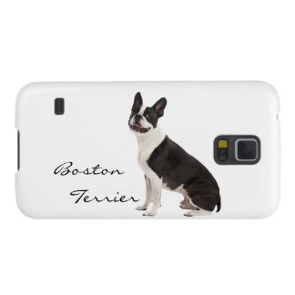 Boston Terrier dog beautiful photo, custom gift Galaxy S5 Covers