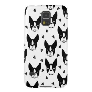 Boston Terrier Dog Black And White / Andrea Lauren Galaxy S5 Case