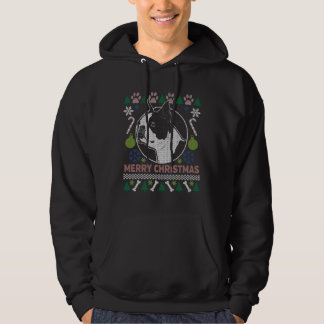 Boston Terrier Dog Breed Ugly Christmas Sweater