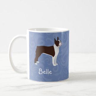 Boston Terrier Dog Customizable Mug