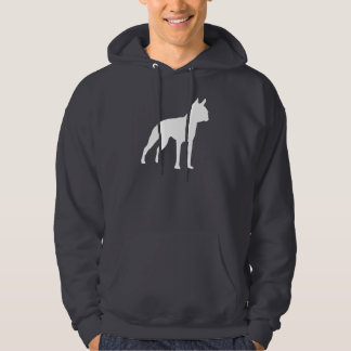 Boston Terrier Dog Gifts (white) Hoodie