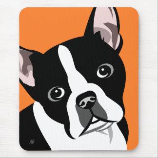 Boston Terrier Dog Mousepads