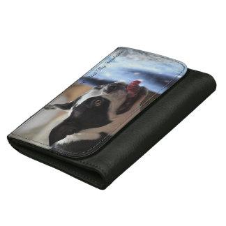 Boston Terrier Dog Wallet Cute Fun Gift Idea