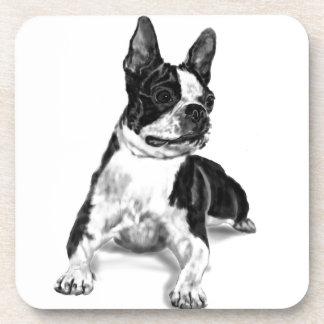 Boston Terrier Drink Coaster