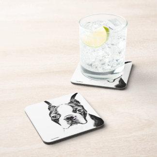 Boston Terrier Drink Coasters