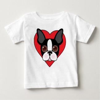 Boston Terrier Face Baby T-Shirt